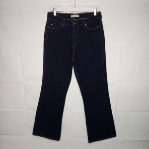 Levi's Perfectly Slimming Boot Cut 512 12 Sz Short